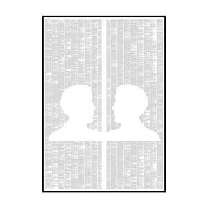 Knižní plakát Obraz Doriana Graye, 70x100 cm