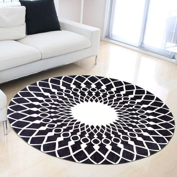 Odolný koberec Vitaus Perhena, ⌀ 80 cm