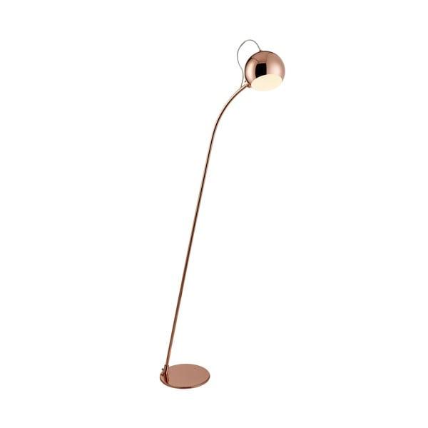 Stojací lampa Magnetic Head, měď