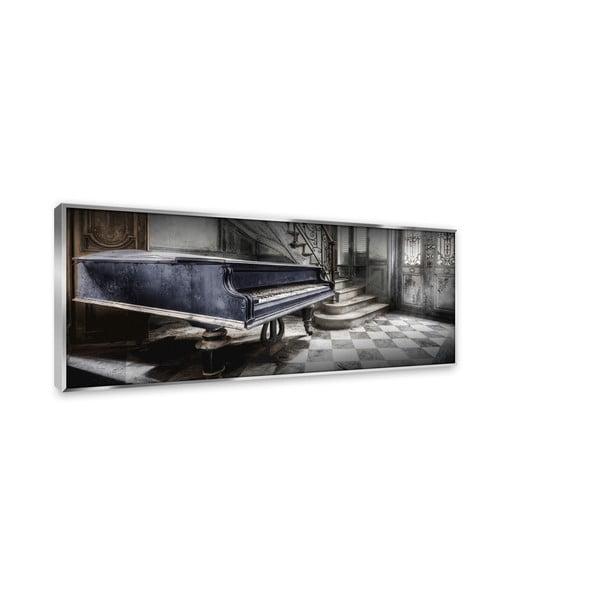 Tablou din sticlă Styler Blue Piano, 126 x 51 cm