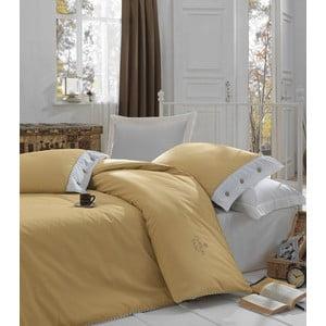 Lenjerie de pat cu cearșaf  Caramelino, 200x220cm