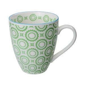 Porcelánový hrnek Orient Green, 8,7x9,8 cm