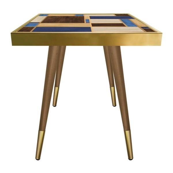 Príručný stolík Caresso Rectangles Square, 45 × 45 cm
