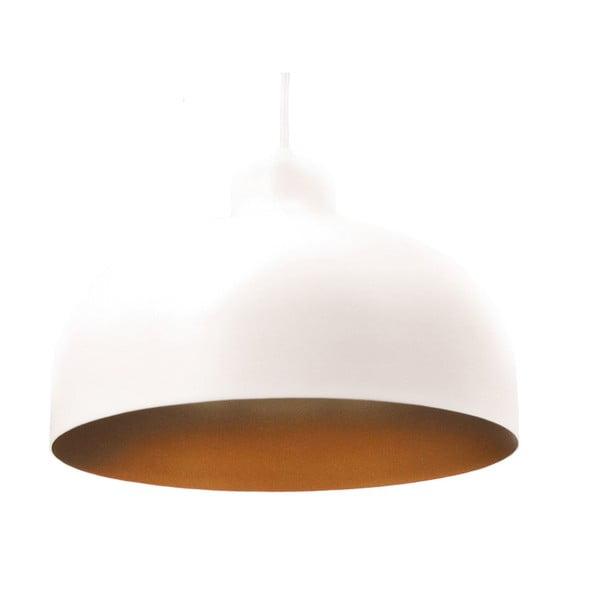 Bílo-zlaté stropní světlo Loft You B&B, 44 cm