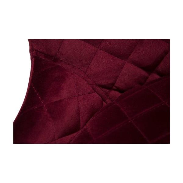 Vínově červená barová židle DAN-FORM Denmark Vetro
