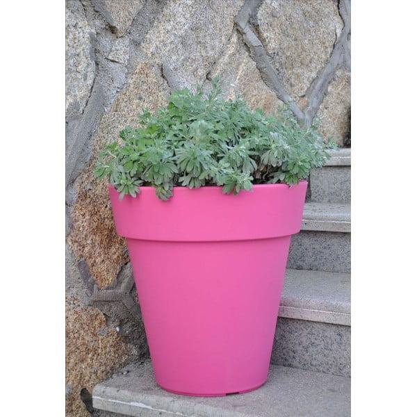 Květináč Samantha 45x45 cm, růžový