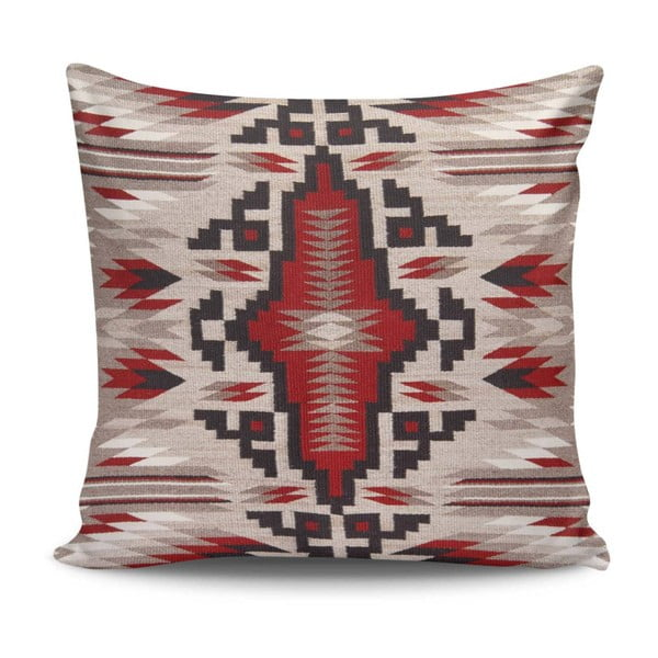 Pernă decorativă Indian Pattern, 45 x 45 cm