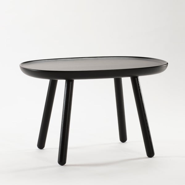 Naïve Medium fekete tárolóasztal - EMKO
