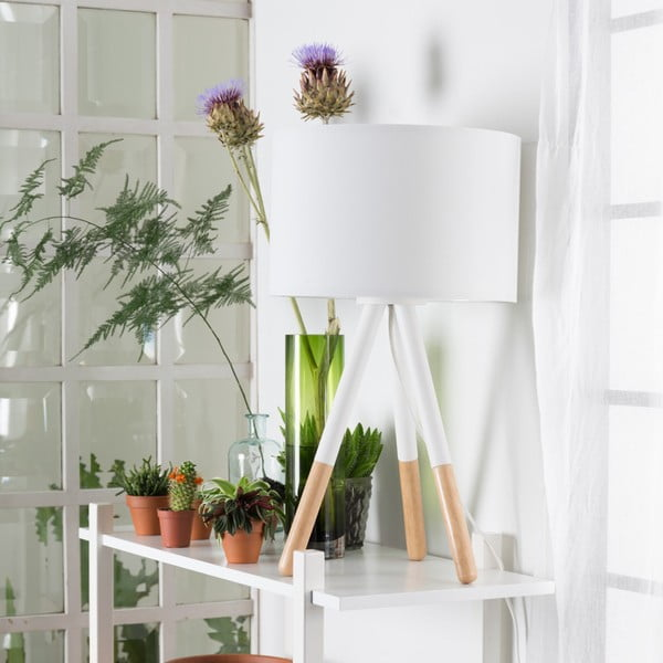 Stolní lampa Highland White