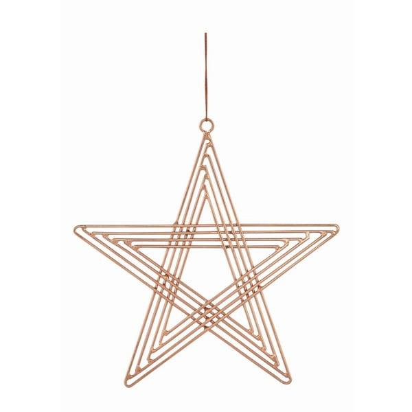 Sada 4 závěsných hvězd  Path Copper