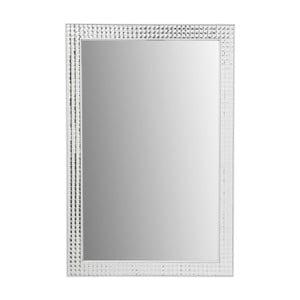 Nástěnné zrcadlo Kare Design Crystals Deluxe, 120 x 80 cm