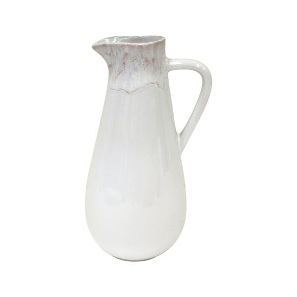 Biely džbán z kameniny Casafina Taormina, 1,6 l