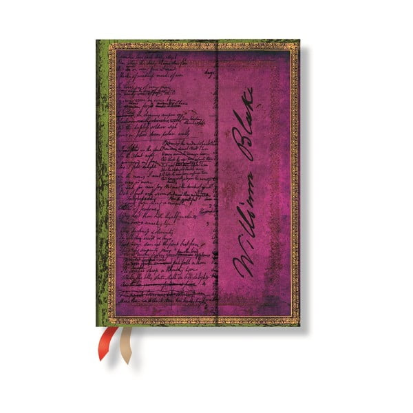 Diář pro rok 2015 Blake Poems 13x8 cm, verso výpis dnů