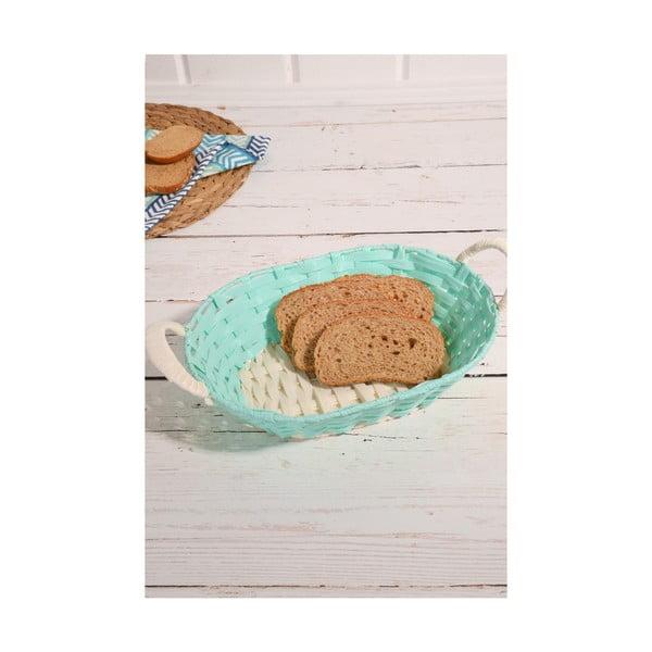 Logan Daniel fonott kenyértartó kosár, 30 x 23 x 10 cm