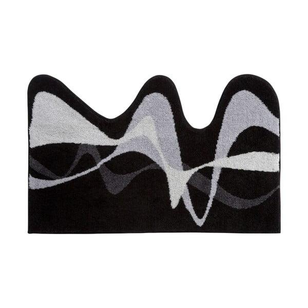 Koupelnová předložka Kolor My World XVIII 75x120 cm, šedá