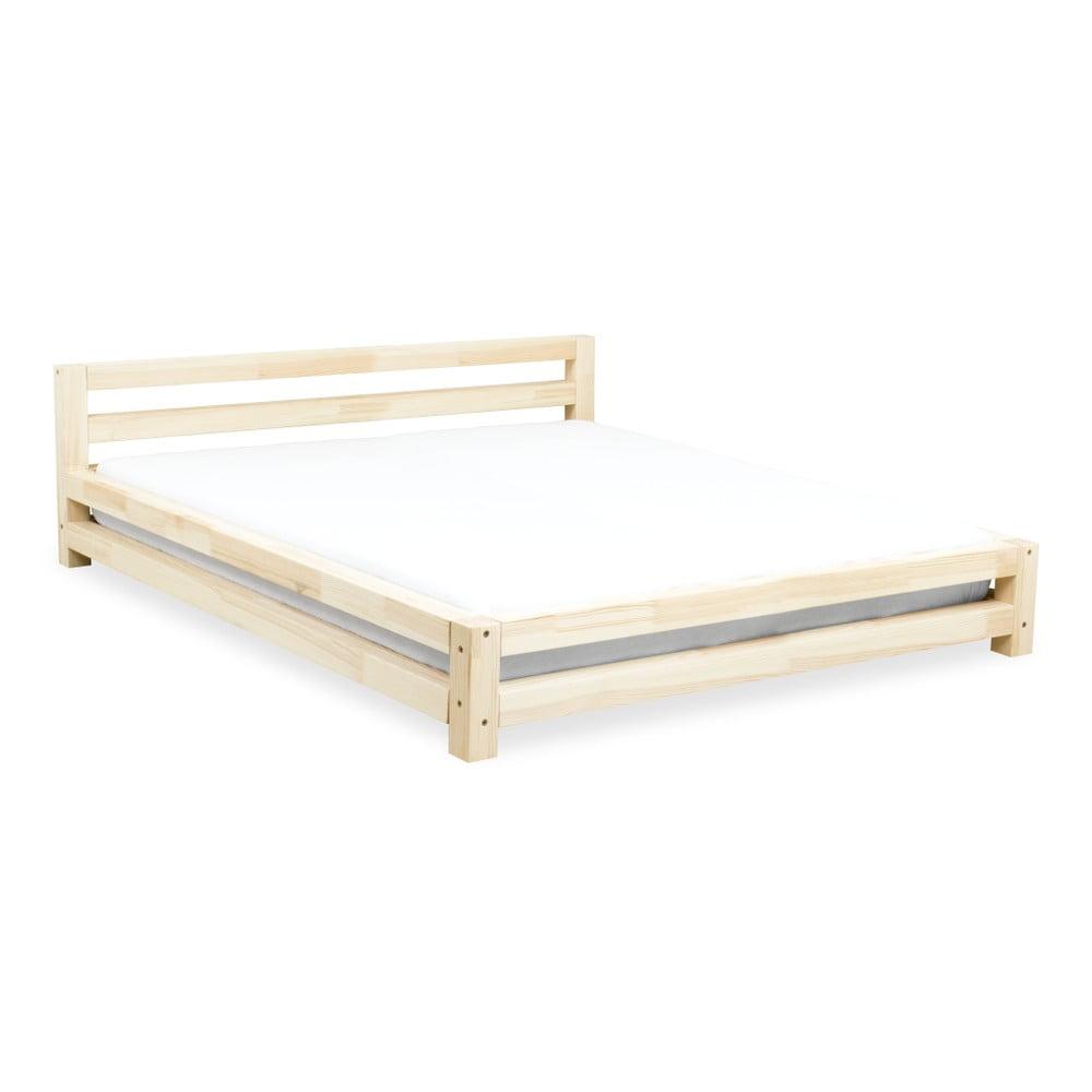 Dvoulůžková postel z borovicového dřeva Benlemi Double, 160 x 200 cm