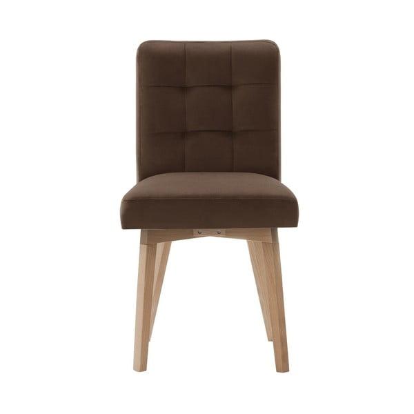Hnědá jídelní židle My Pop Design Haring