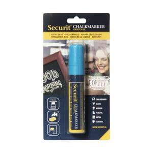 Modrý křídový popisovač na vodní bázi Securit® Liquid Passo