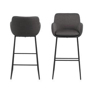 Sada 2 barových židlí Actona Lisa