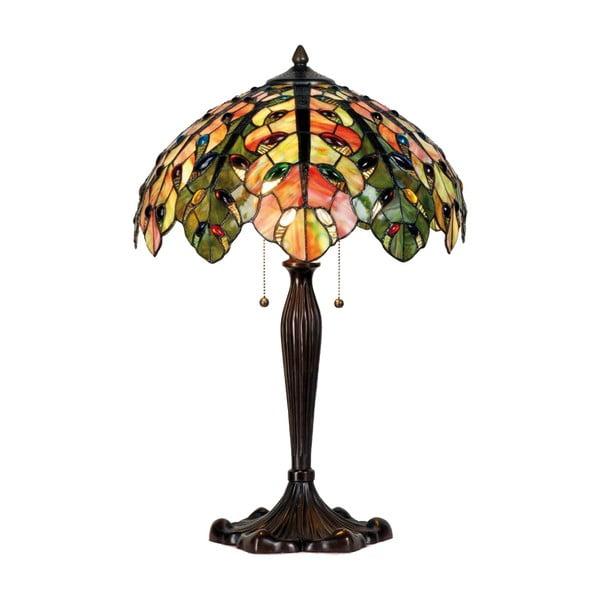 Tiffany stolní lampa Complete, 43 cm