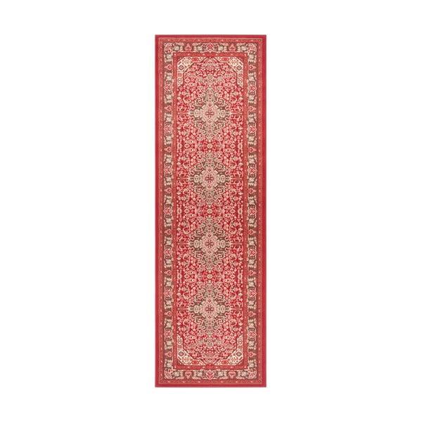 Jasnoczerwony chodnik Nouristan Skazar Isfahan, 80x250 cm