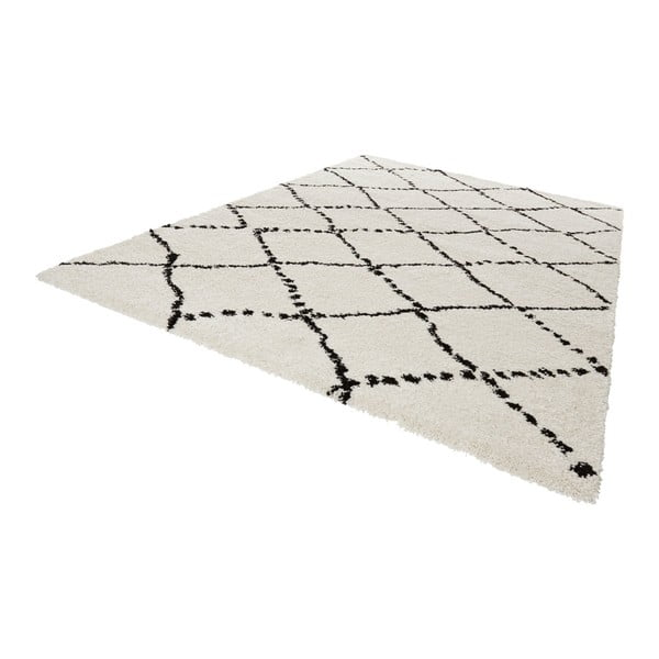 Černobílý koberec Mint Rugs Allure Ronno Black White, 160x230cm