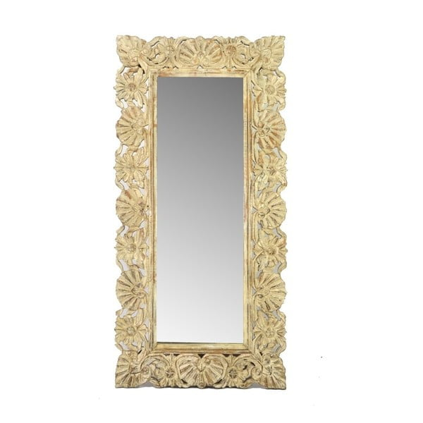 Zrcadlo Orient 60x120 cm, béžové