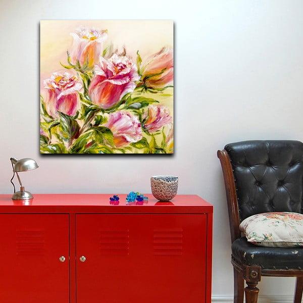 Obraz Růže činí šťastnými, 60x60 cm