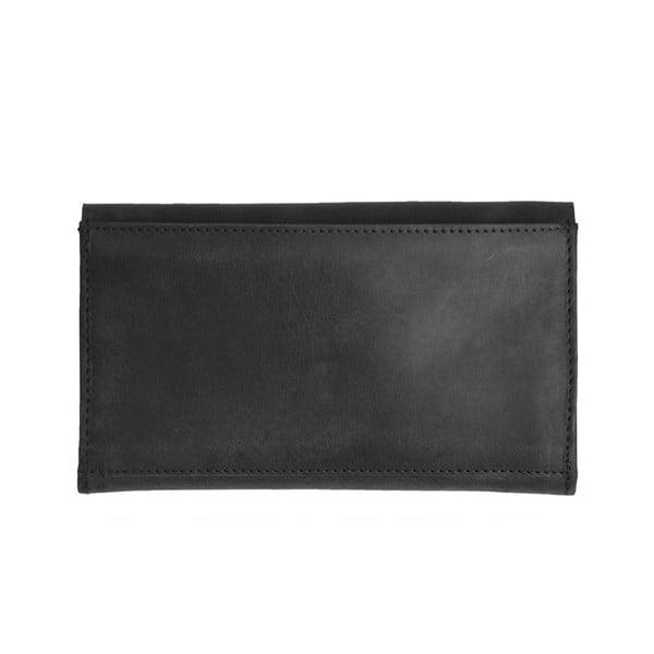 Kožená peněženka O My Bag Pixies Pouch, černá