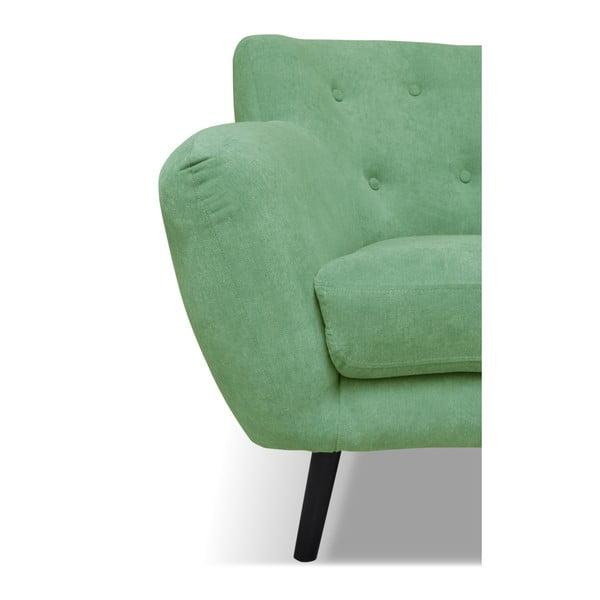 Zelená pohovka pro tři Cosmopolitan design Hampstead