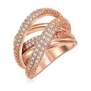 Dámský prsten v barvě růžového zlata Runaway Barbara, 58