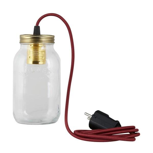 Svítidlo JamJar Lights, vínový kulatý kabel