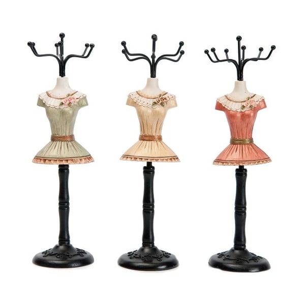 Sada 3 dekorativních figurek Antic Line Fashion