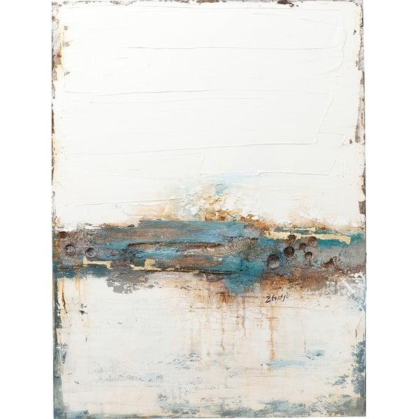 Tablou ulei Kare Design Stroke One, 120 x 90 cm