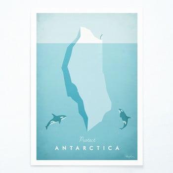 Poster Travelposter Antarctica, A2