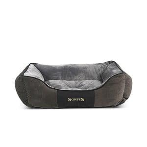 Psí pelíšek Chester Bed 75x60 cm, šedý