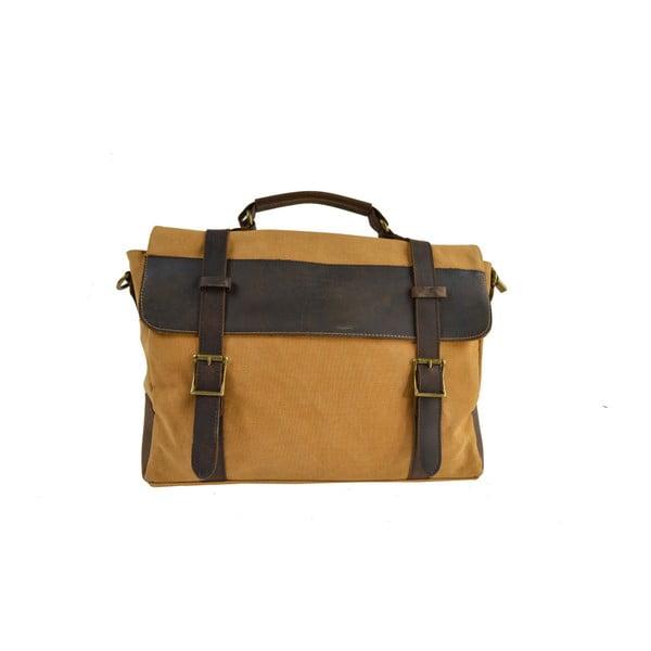 Hořčicová taška Briefcase