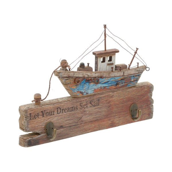 Drevená dekorácia InArt Sail