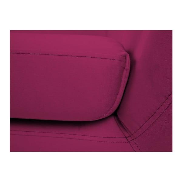 Růžová dvoumístná pohovka Mazzini Sofas Benito