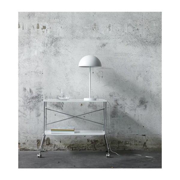 bílá stolní lampa Markslöjd BAS