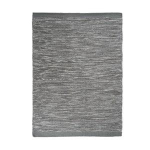 Vlněný koberec Asko, 140x200 cm, šedomodrý
