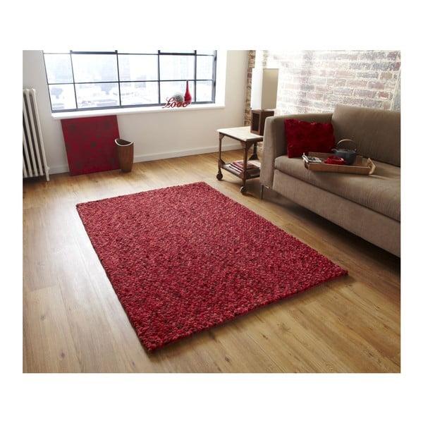 Koberec Pebbles Red, 120x170 cm