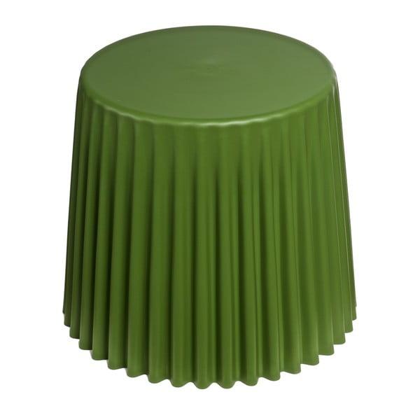 Tmavě olivový stolek D2 Cork