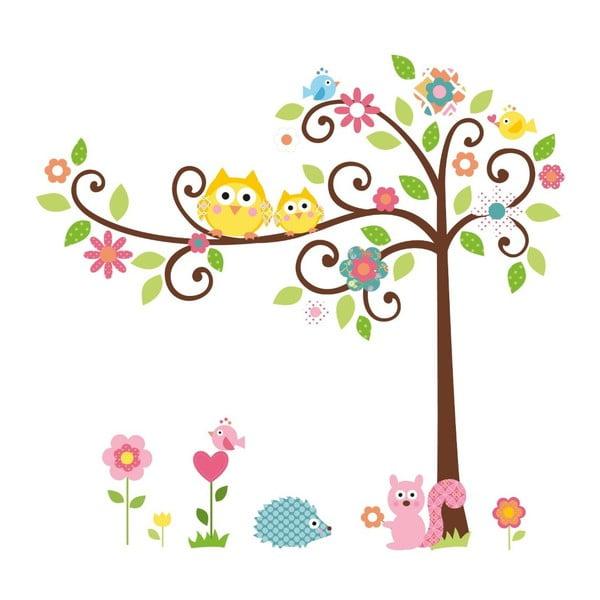 Samolepka na zeď Strom štěstí
