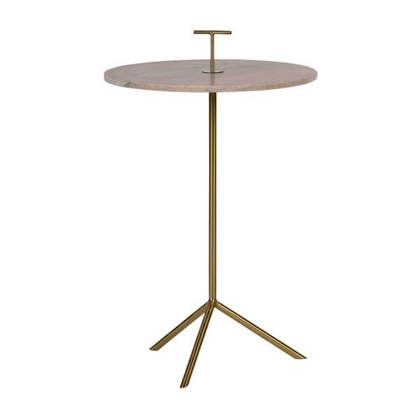 Odkládací stolek s mramorovou deskou BePureHome Paddle
