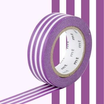 Bandă decorativă Washi MT Masking Tape Fabiola, rolă 10 m imagine