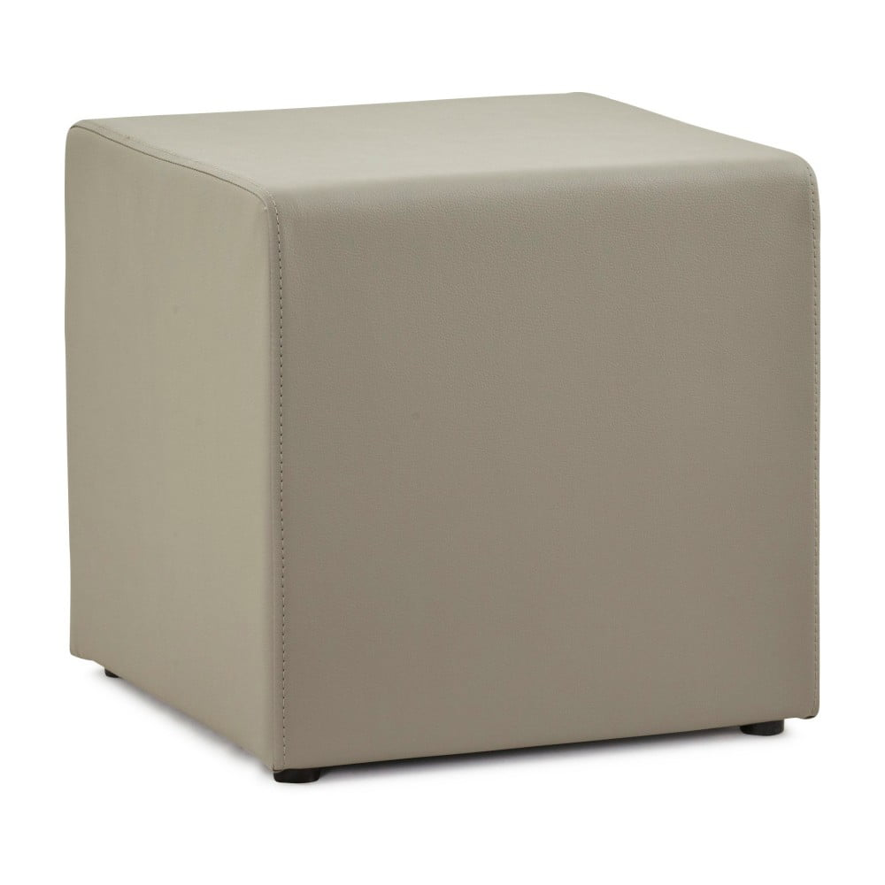 Šedý puf Kokoon Rubik