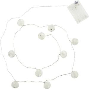 Řetěz s LED světýky Athezza Ball Garland