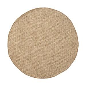 Vlněný koberec Asko Light Beige, 90 cm