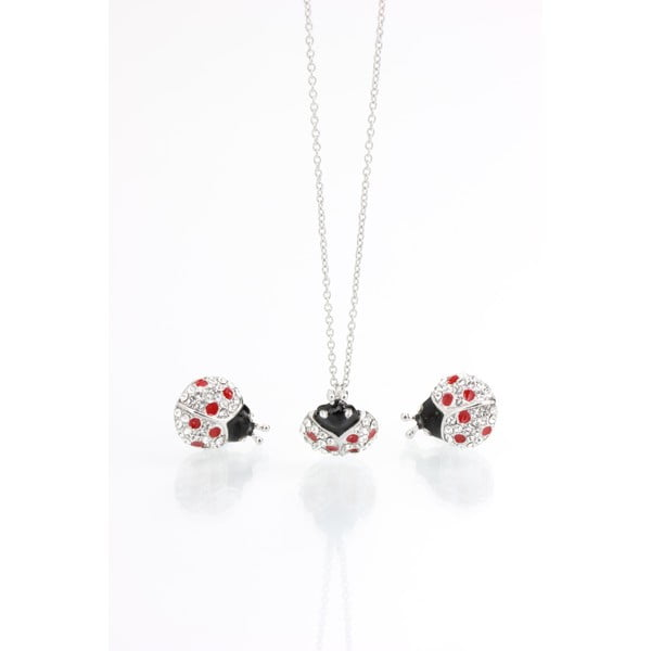 Set colier și cercei Swarovski Elements Laura Bruni Dot